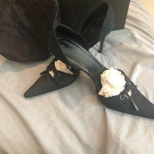Gucci Scar Tess S. Cuoio Womens Heels